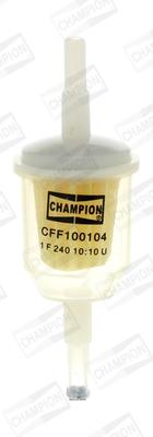 Filtre a carburant CHAMPION CFF100104 (X1)