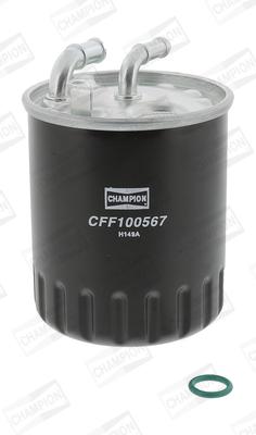 Filtre a carburant CHAMPION CFF100567 (X1)