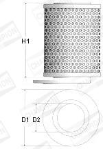 Filtre a huile CHAMPION X101/606 (X1)