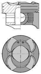 Piston moteur KOLBENSCHMIDT 41513620 (X1)
