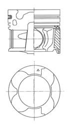 Piston moteur KOLBENSCHMIDT 41709600 (X1)