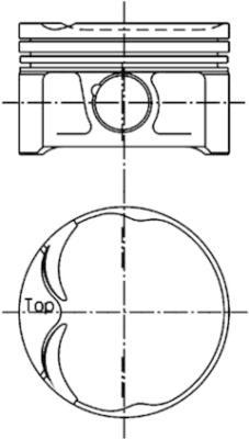 Piston moteur KOLBENSCHMIDT 94629611 (X1)
