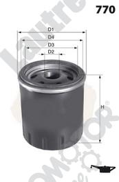 Filtre a huile AUTOMOTOR France LATH01 (X1)
