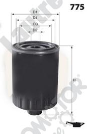 Filtre a huile AUTOMOTOR France LATH09 (X1)