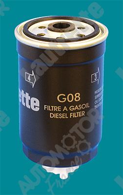 Filtre a carburant AUTOMOTOR France LATG08 (X1)