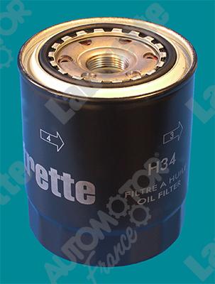 Filtre a huile AUTOMOTOR France LATH34 (X1)