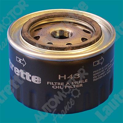 Filtre a huile AUTOMOTOR France LATH43 (X1)