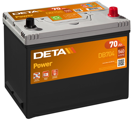 Batterie DETA DB704 (X1)