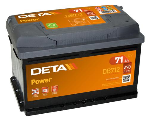 Batterie DETA DB712 (X1)