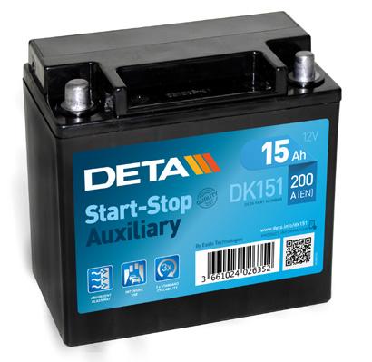 Batterie DETA DK151 (X1)
