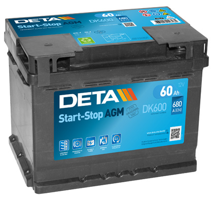 Batterie DETA DK600 (X1)