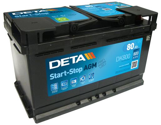 Batterie DETA DK800 (X1)
