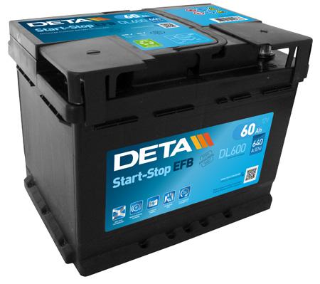 Batterie DETA DL600 (X1)
