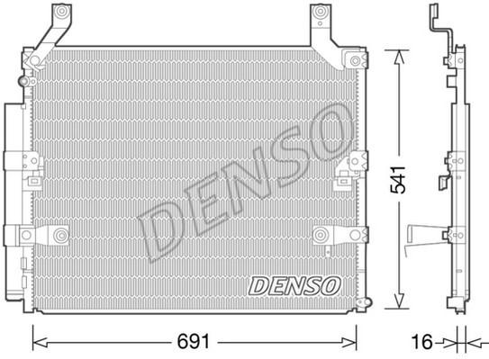 Condenseur / Radiateur de climatisation NPS DCN50032 (X1)