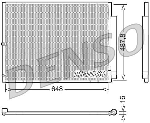 Condenseur / Radiateur de climatisation NPS DCN51001 (X1)