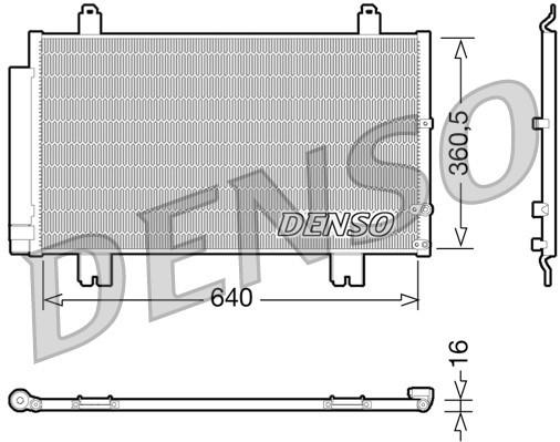 Condenseur / Radiateur de climatisation NPS DCN51005 (X1)