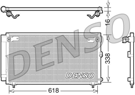 Condenseur / Radiateur de climatisation NPS DCN51006 (X1)