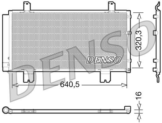 Condenseur / Radiateur de climatisation NPS DCN51007 (X1)
