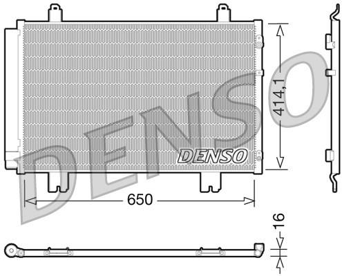 Condenseur / Radiateur de climatisation NPS DCN51009 (X1)