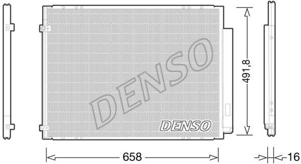 Condenseur / Radiateur de climatisation NPS DCN51010 (X1)