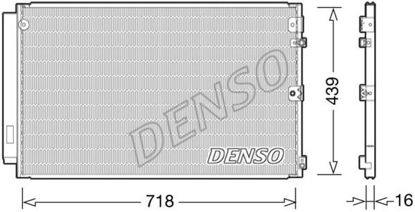 Condenseur / Radiateur de climatisation NPS DCN51011 (X1)