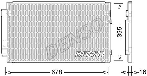 Condenseur / Radiateur de climatisation NPS DCN51012 (X1)