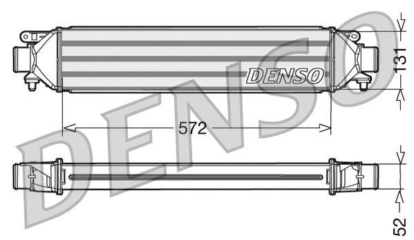 Intercooler radiateur de turbo NPS DIT09107 (X1)