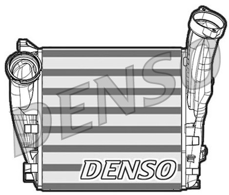 Intercooler radiateur de turbo NPS DIT28011 (X1)