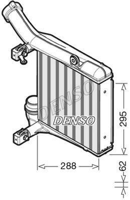 Intercooler radiateur de turbo NPS DIT28012 (X1)