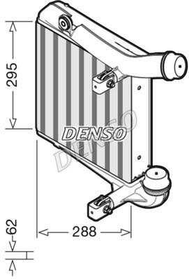 Intercooler radiateur de turbo NPS DIT28013 (X1)