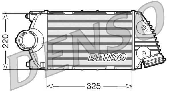 Intercooler radiateur de turbo NPS DIT28015 (X1)