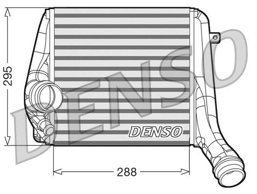 Intercooler radiateur de turbo NPS DIT28017 (X1)