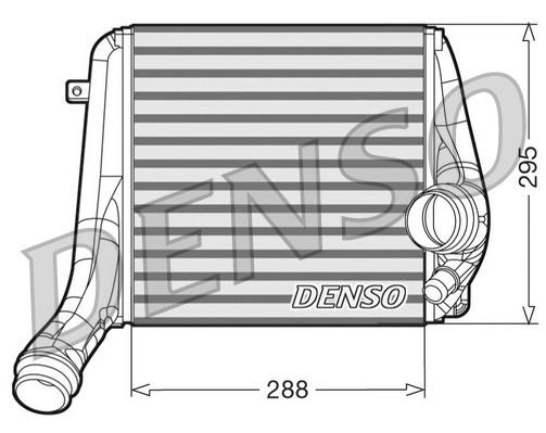 Intercooler radiateur de turbo NPS DIT28018 (X1)