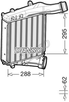 Intercooler radiateur de turbo NPS DIT28019 (X1)
