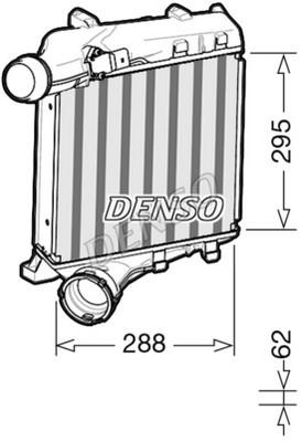 Intercooler radiateur de turbo NPS DIT28020 (X1)
