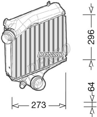 Intercooler radiateur de turbo NPS DIT28023 (X1)