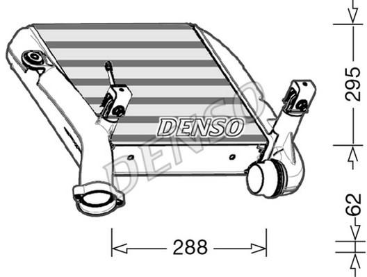Intercooler radiateur de turbo NPS DIT28024 (X1)