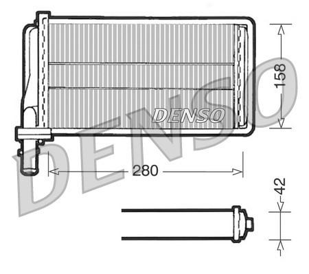 Radiateur de chauffage NPS DRR01001 (X1)