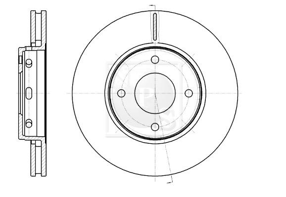 Disque de frein avant NPS M330I70 (X1)