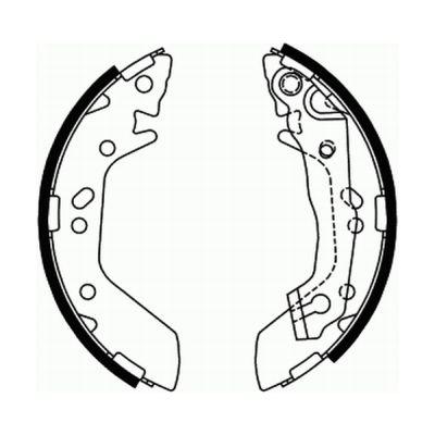 kit de frein arrière simple ou prémonté ABE C00515ABE (X1)