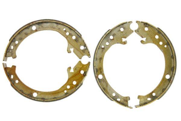 Jeu de mâchoires de frein de frein à main ABE C04020ABE (X1)
