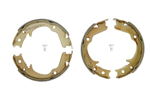 Jeu de mâchoires de frein de frein à main ABE C07012ABE (X1)