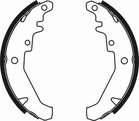 kit de frein arrière simple ou prémonté ABE C0F014ABE (X1)