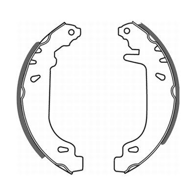 kit de frein arrière simple ou prémonté ABE C0R004ABE (X1)