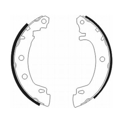 kit de frein arrière simple ou prémonté ABE C0R012ABE (X1)