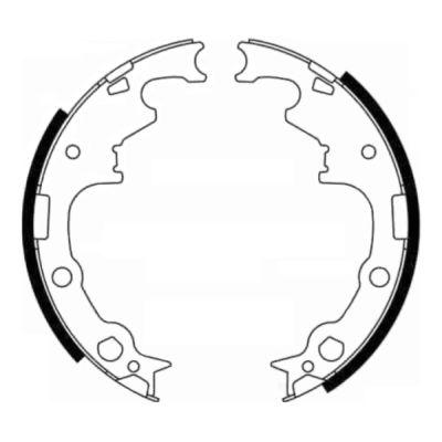 kit de frein arrière simple ou prémonté ABE C0Y003ABE (X1)