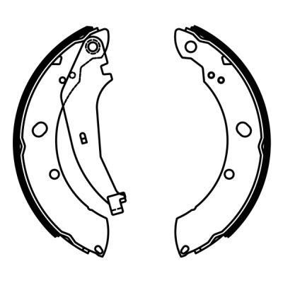 kit de frein arrière simple ou prémonté ABE C0Y009ABE (X1)