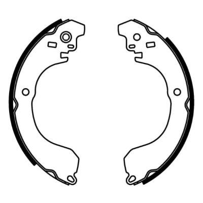 kit de frein arrière simple ou prémonté ABE C0Y010ABE (X1)