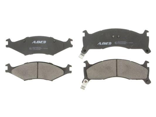 Plaquettes de frein avant ABE C10302ABE (X1)