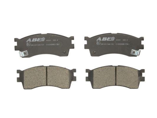 Plaquettes de frein avant ABE C10303ABE (X1)